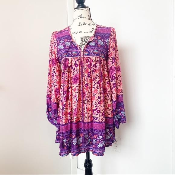sipin woman Dresses & Skirts - Long Sleeve Boho Dress/Tunic